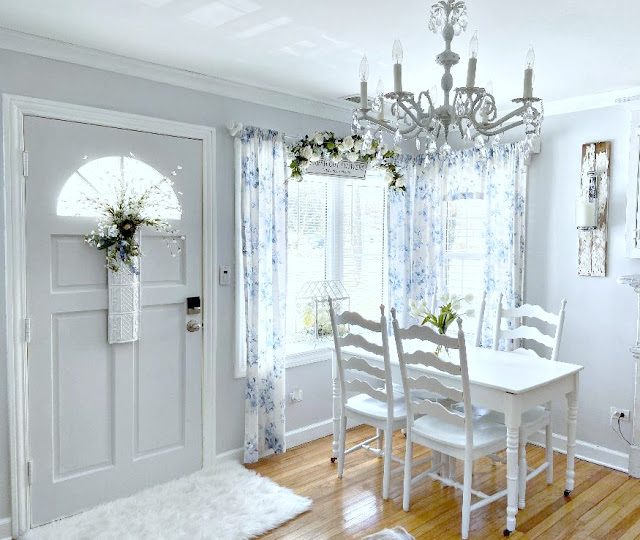 Living Room Dining Room Combo Junk Chic Cottage