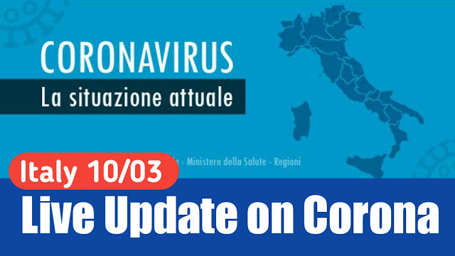 ITALY Update 10/03/2020