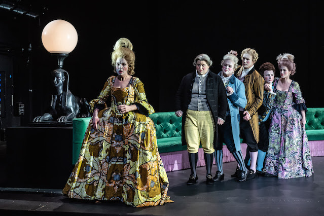 Handel: Berenice - Claire Booth, Alessandro Fisher, William Berger, James Laing, Patrick Terry, Rachael Lloyd - London Handel Festival, Royal Opera -(C) ROH 2019 Photo Clive Barda