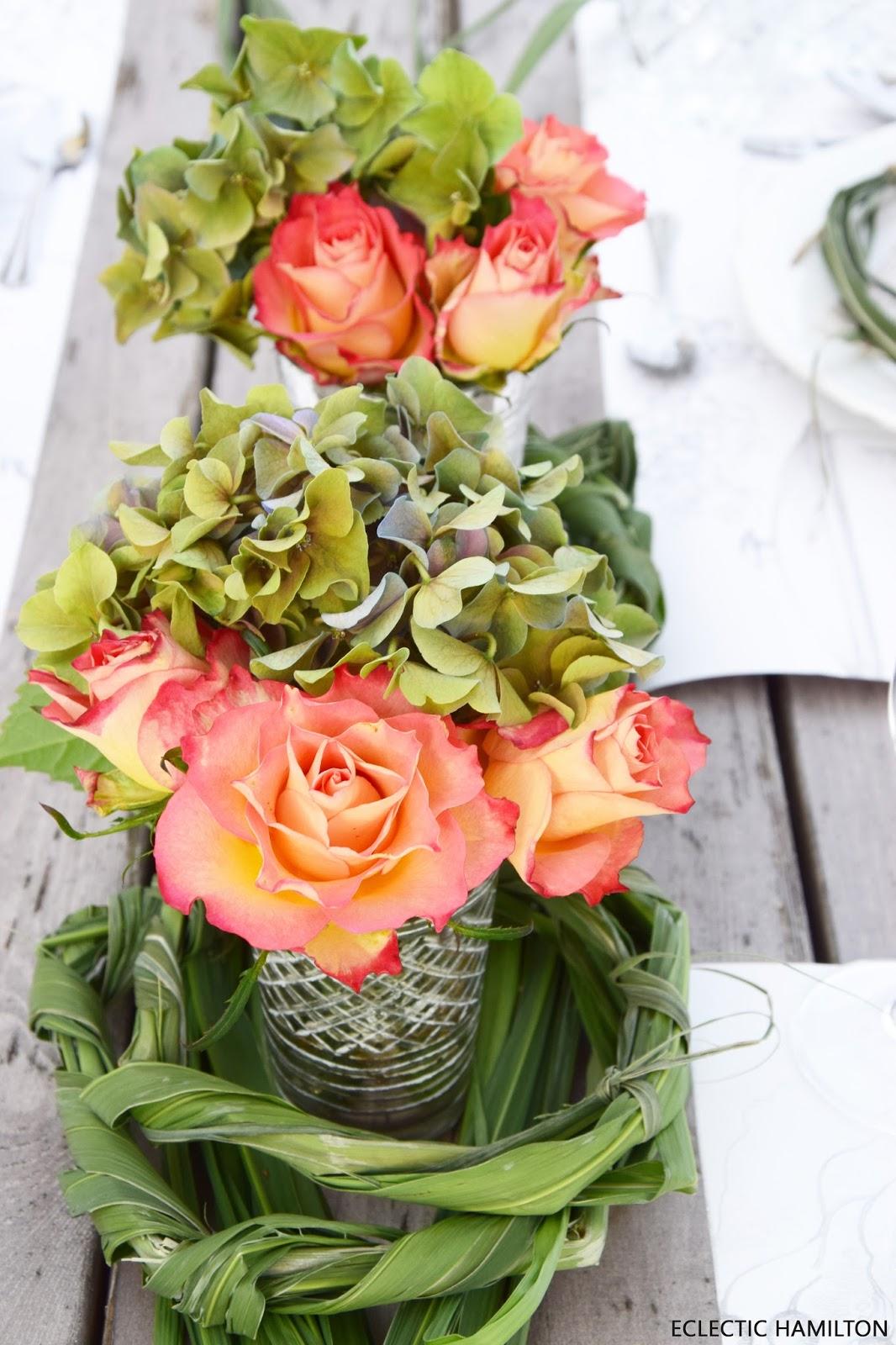 So trocknet ihr Rosen und Hortensien seidig weich. Deko, Dekoration, Blumendeko, DIY, natürlich dekorieren, Dekoidee