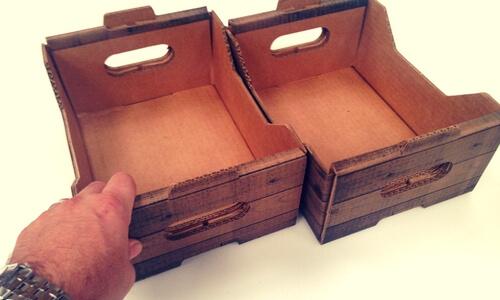 cajas para kg de frutas y verduras