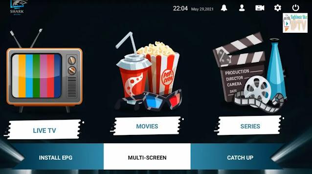 Download shark app IPTV APK