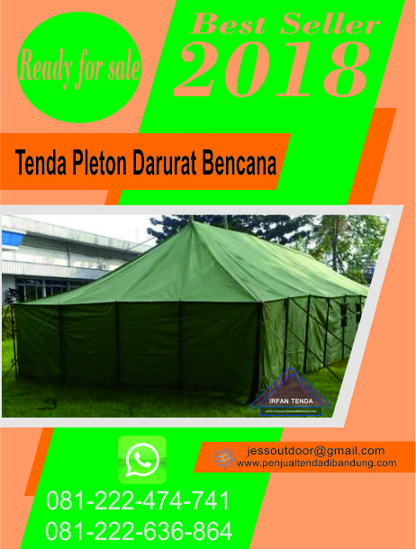 Penjual Tenda Pleton