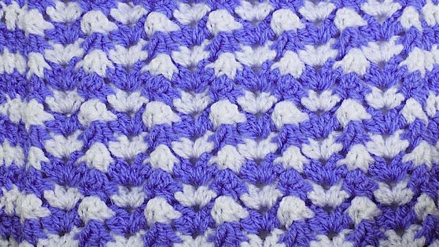 6 - Crochet Imagen Puntada de ondas a crochet y ganchillo por Majovel Crochet
