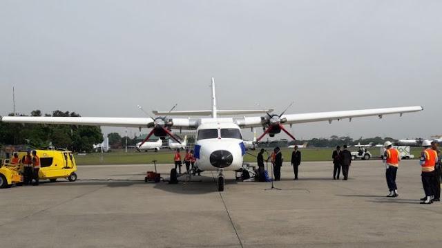 Pesawat Nurtanio yang Diresmikan Presiden Jokowi Hari Ini