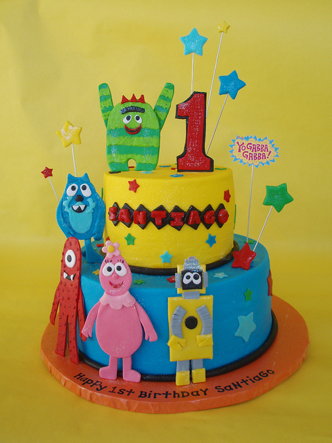 Birthday Cake Yo Gabba Gabba Birthday Cake