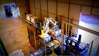 Yapı Kimyasalları Robotlu Paletleme