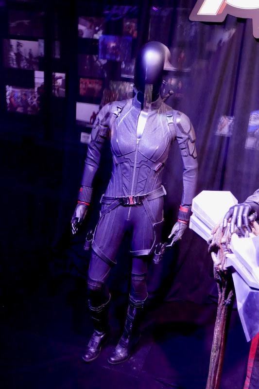 Scarlett Johansson Avengers Endgame Black Widow costume