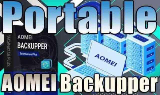 تحميل برنامج AOMEI Backupper v6.5.1 Portable نسخة محمولة مفعلة اخر اصدار