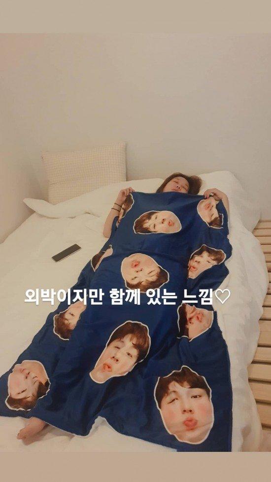 '외박이지만 함께 있는 느낌♡', 진정한 사랑꾼 보여준 연예인