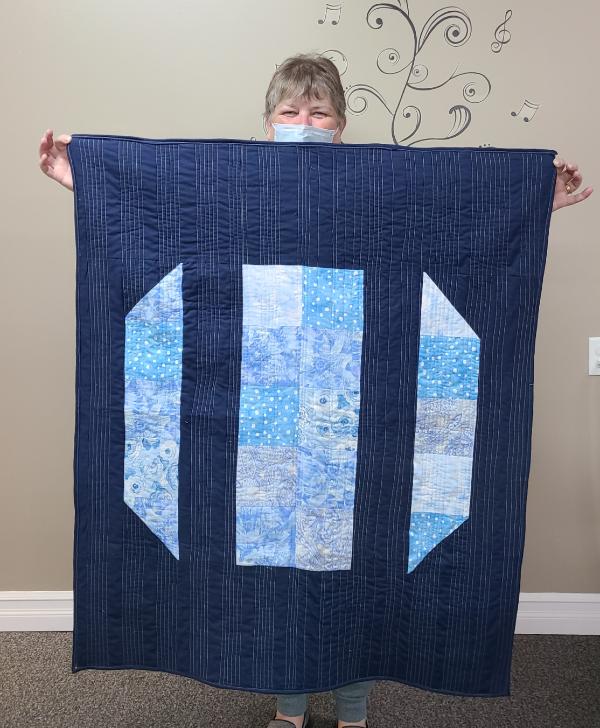 Emma's first quilt | DevotedQuilter.com