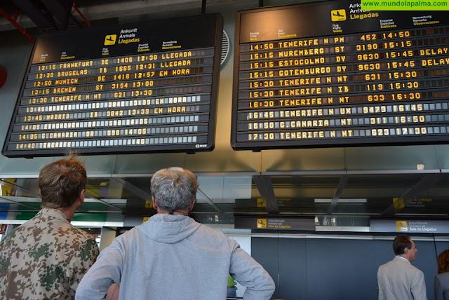 Turismo de Canarias confirma con las aerolíneas la recuperación del 54% de la conectividad en agosto