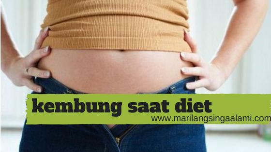 Kembung Saat Diet, Penyebab dan Cara Mengatasinya