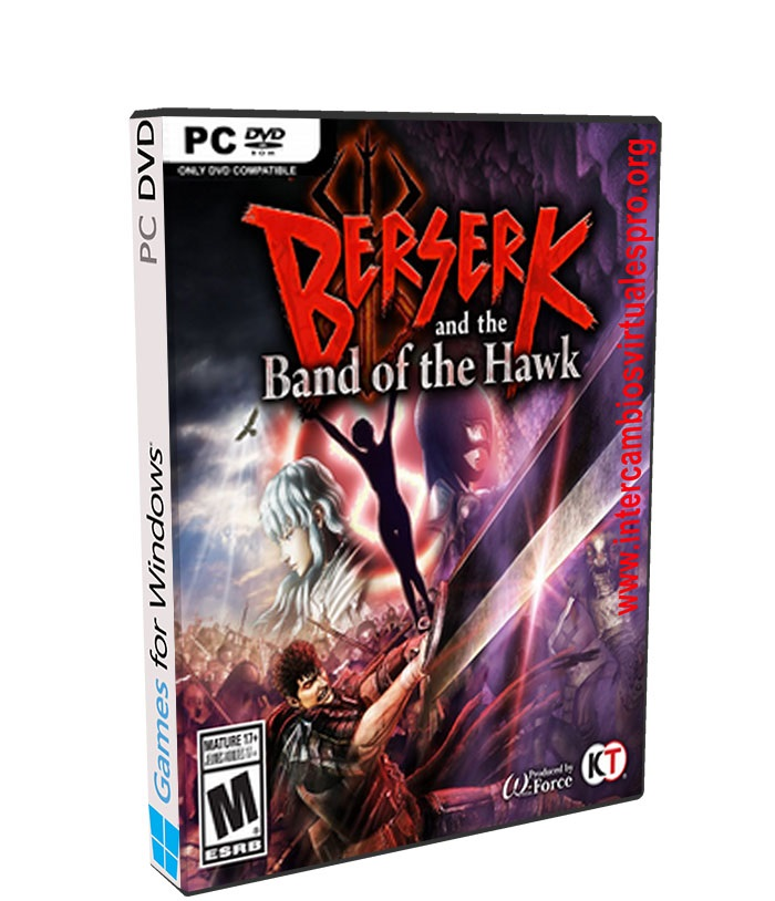 BERSERK and the Band of the Hawk poster box cover
