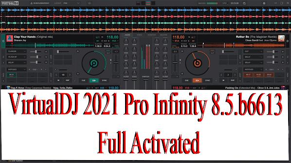 VirtualDJ 2021 Pro Infinity 8.5.b6613