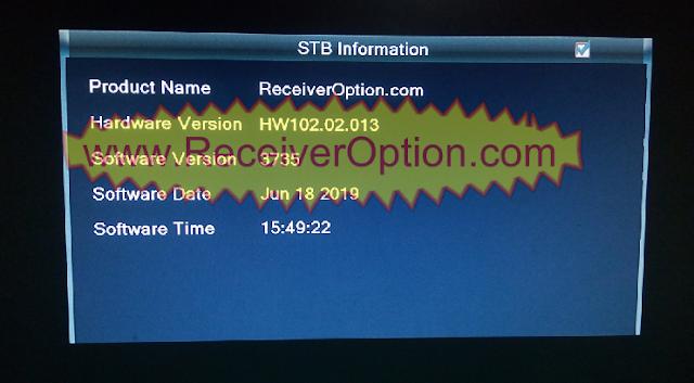 ALI3510C HW102.02.013 HD RECEIVER CLINE & TEN SPORTS OK NEW SOFTWARE