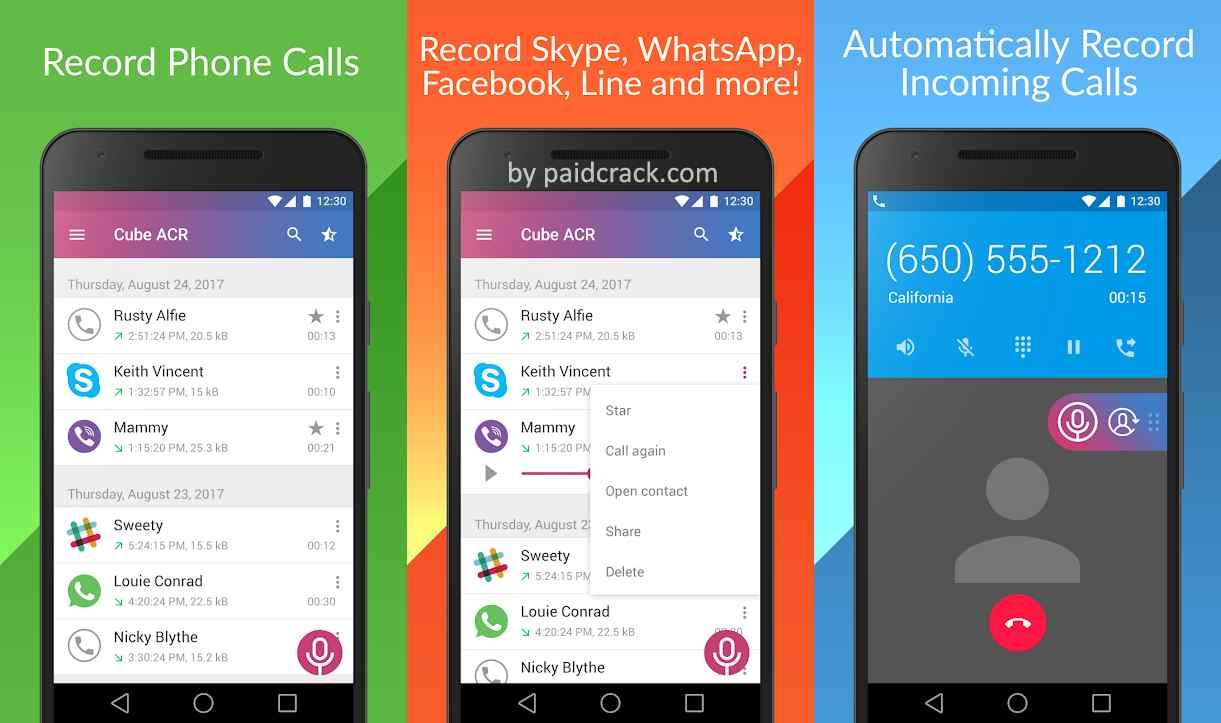 Call Recorder - Cube ACR Premium Mod Apk 2.3.201