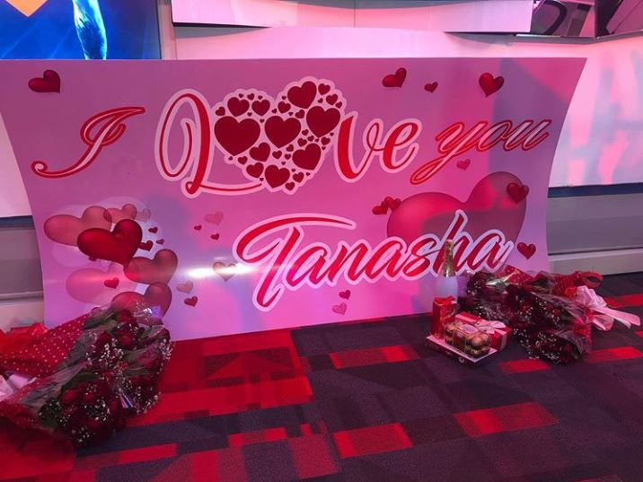 Cute! Diamond's Valentine Surprise To Tanasha Donna Was Over The Bar