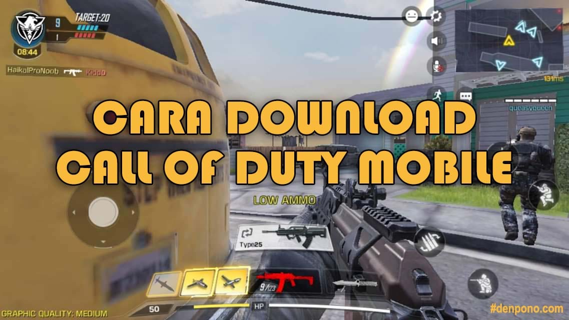 Cara Download Dan Install Game Call Of Duty Mobile Denpono Blog
