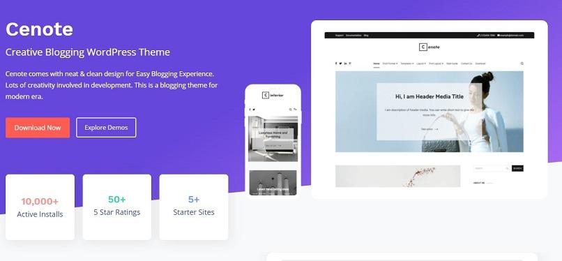 cenote theme for affiliate marketing