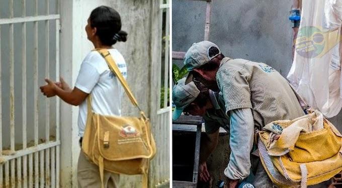 PQA-VS: Agentes de combate às endemias começam a receber o pagamento