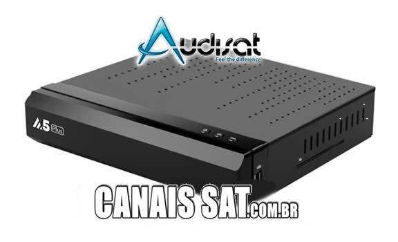 Audisat A5 e A5 Plus Nova Atualização V1.4.07 - 28/02/2020
