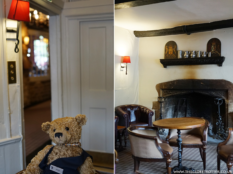 Winston the Bear at the Macdonald Bear Hotel