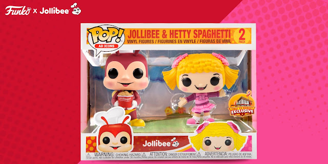 Jollibe and Hetty 2-pack Funko Pop