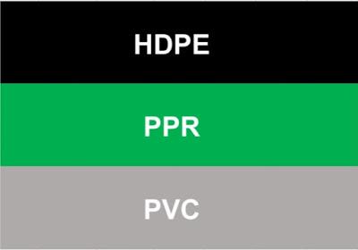Perbedaan Pipa Hdpe Ppr dan Pvc. Bagus Mana Jika Untuk Air Panas