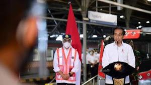 Resmikan KRL Yogyakarta-Solo, Presiden Jokowi: Ini Transportasi Massal Ramah Lingkungan