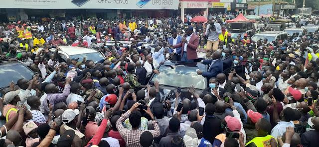 Deputy President William Ruto in Kisii