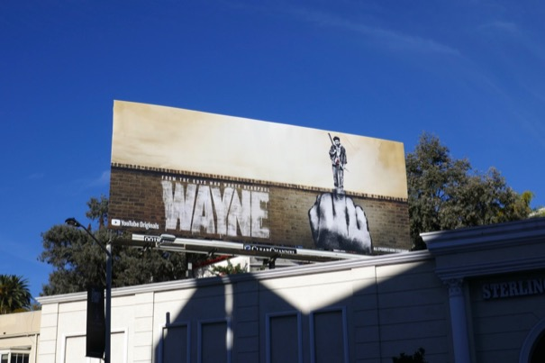 Wayne series launch billboard