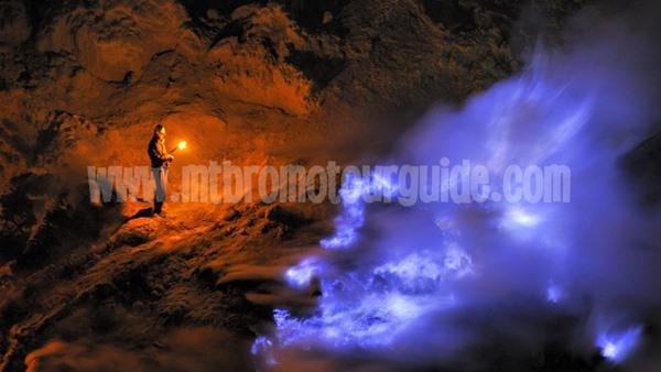 Blue Flame Ijen Crater Banyuwangi