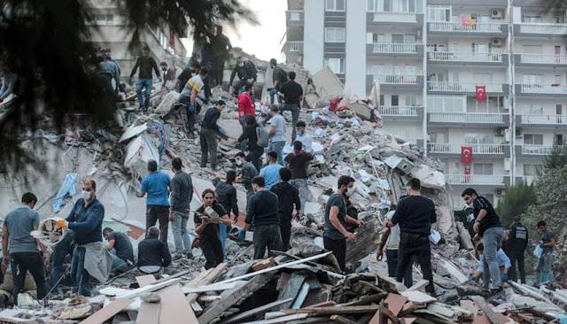 Terremoto Turquía y Grecia
