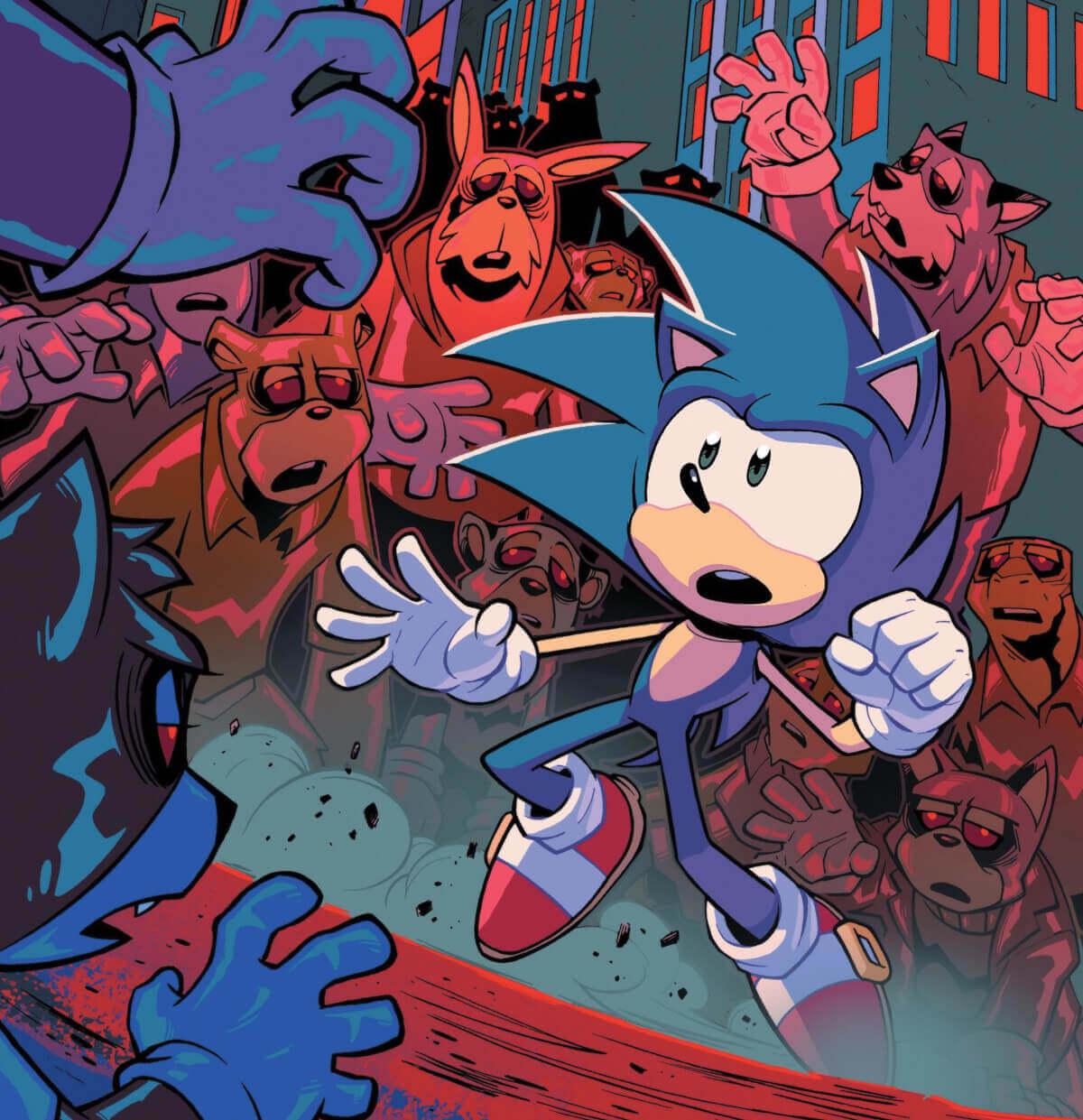 As HQs do Sonic na IDW são incríveis!