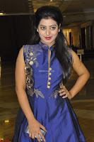 Tarunika Sing in Blue Ethnic Anarkali Dress 04.JPG