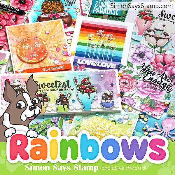 Simon Says Stamp Rainbows Collection