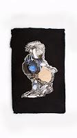 """Nelleke de Noo : Stone Creature 1, exposition """"d'Inspiration Jérôme Bosch"""", Galerie de la Marraine"""