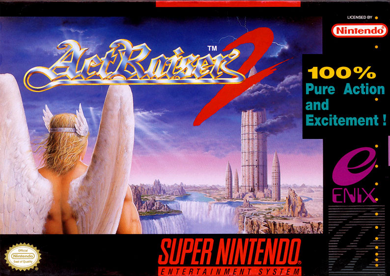 ROMs - ActRaiser 2 (Português) - SNES Download