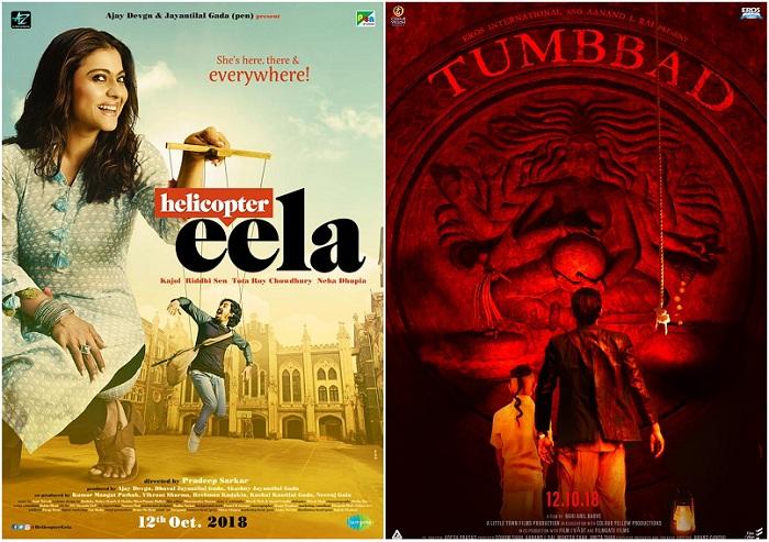 Tumbbad Helicopter Eela Fryday And Jalebi First Weekend Box Office