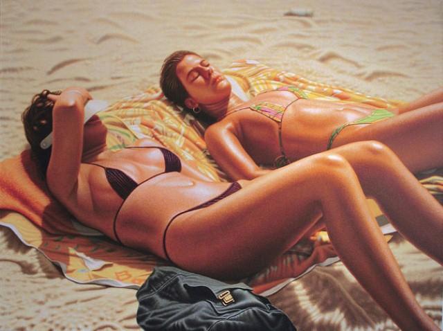 Фото реалистичные картины Хило Чена 15