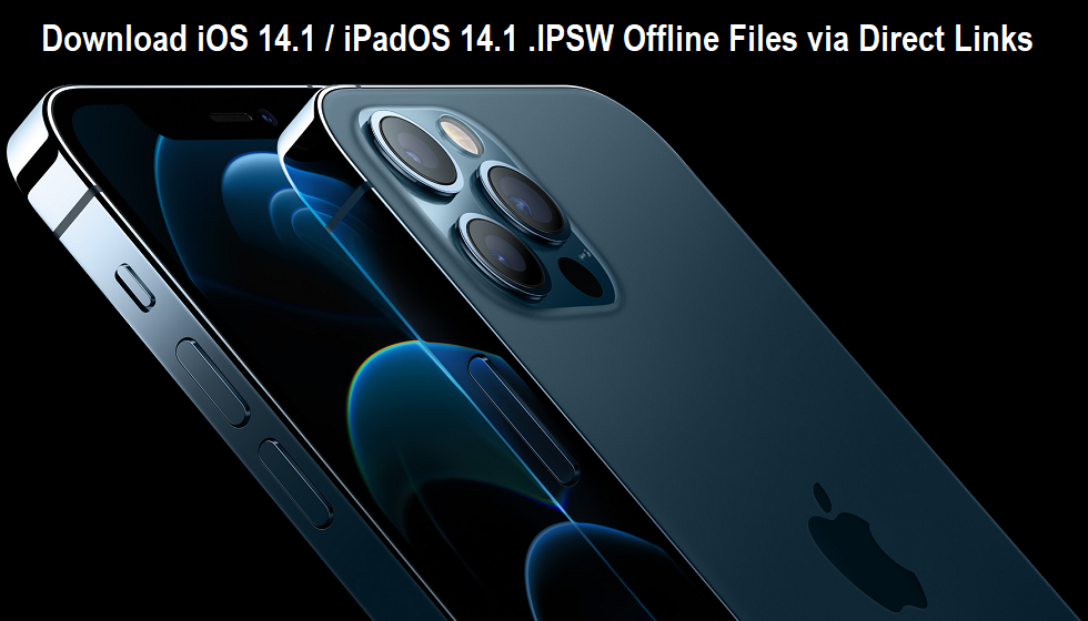 iOS 14.1 .IPSW Download