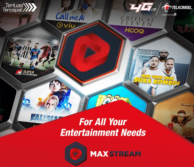 Paket Kuota MAXstream Telkomsel