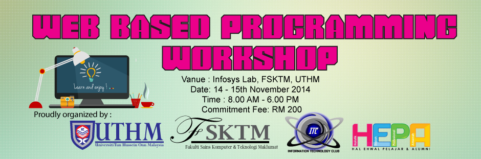 PHP workshop UTHM