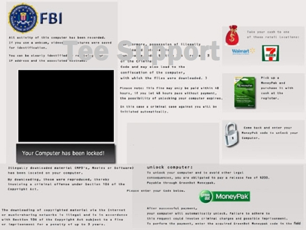 Remove Virus Malware: How to Remove FBI Moneypak virus