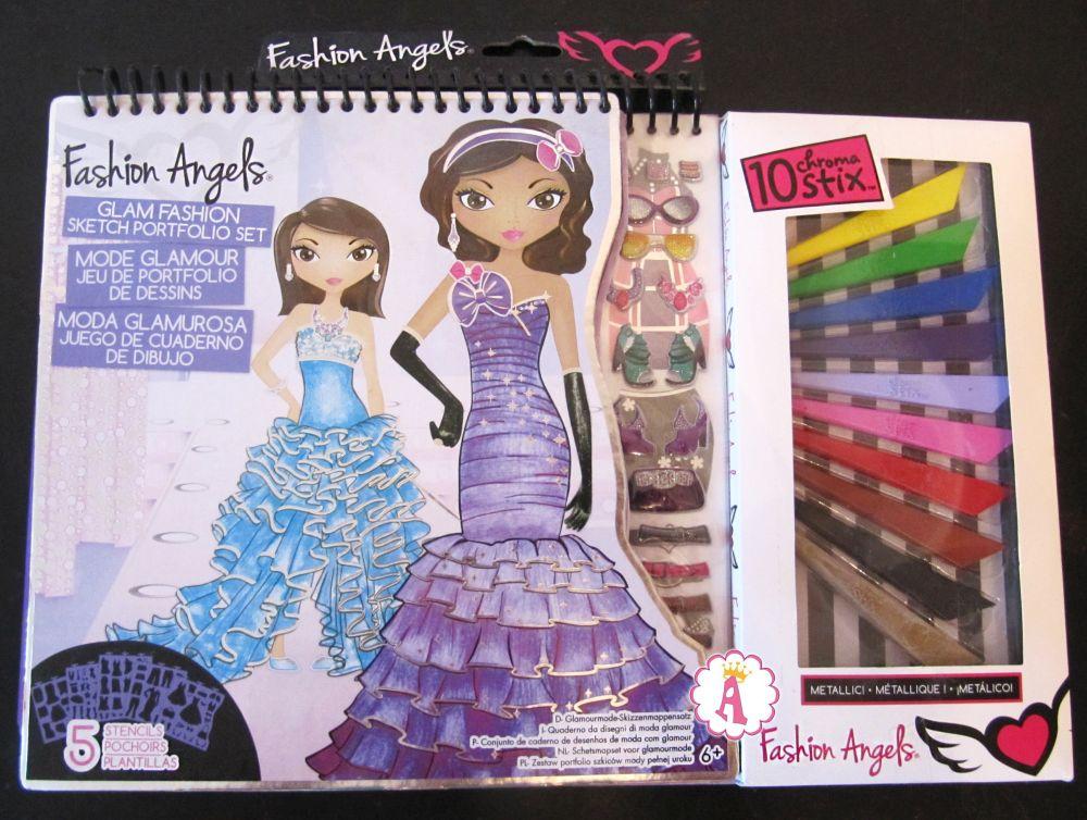 Fashion Angels Glam Fashion Sketch Portfolio