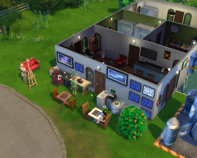 The sims 4 | Focusing Decor