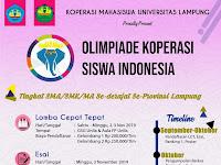 Olimpiade Koperasi Siswa Indonesia (OKSI) 2019
