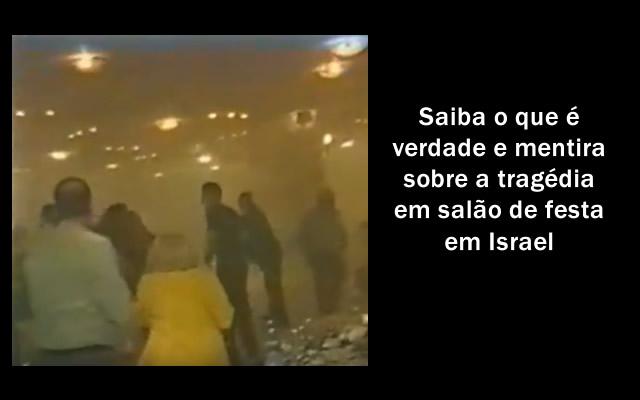 Terra abriu buraco sem fim numa festa em Israel.