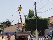Prefeitura de Ilha Grande instala iluminação de led em 12 dias da nova gestão pública